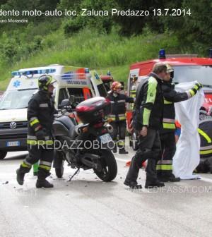 incidente moto auto zaluna predazzo 13.7.14 predazzoblog7