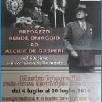 predazzo omaggio a degasperi 150x150 Emozioni di storia a 130 anni dalla nascita di Alcide De Gasperi