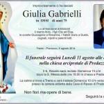Gabrielli Giulia 150x150 Avvisi Parrocchia 3/10 marzo   Necrologio, Gianpaolo Ossi