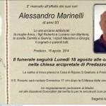 Marinelli Alessandro 150x150 Predazzo, necrologio Teresa Delugan