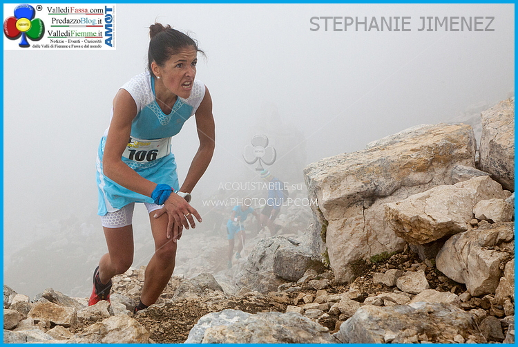 STEPHANIE JIMENEZ vertical latemar 2014 Latemar Vertical Km a Pedergnana e Jimenez   Foto   video e classifiche