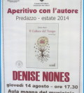 aperitivo con l'autore denise nones predazzo