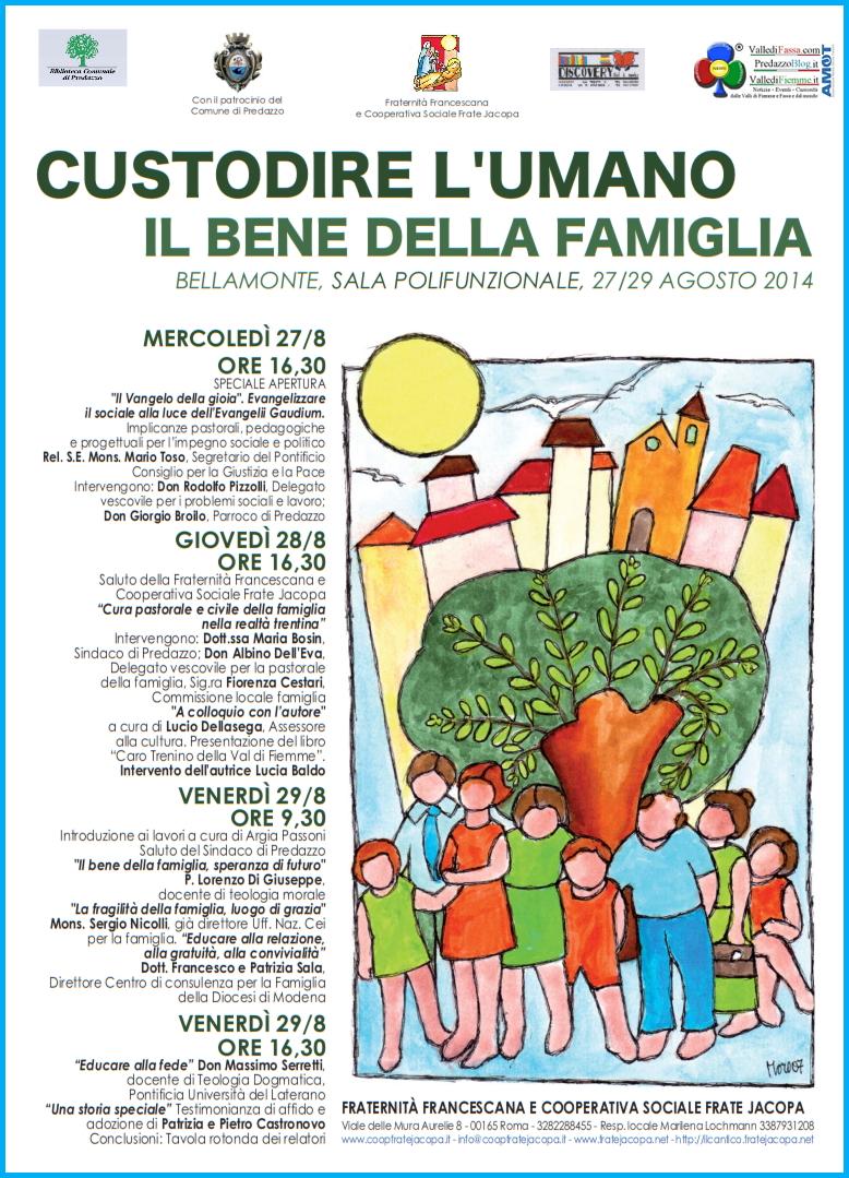convegno famiglia bellamonte La sintesi del Convegno Custodire lumano. Il bene della famiglia