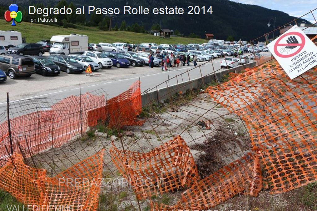 degrado al passo rolle estate 2014 predazzoblog6 Passo Rolle, il degrado nellestate 2014