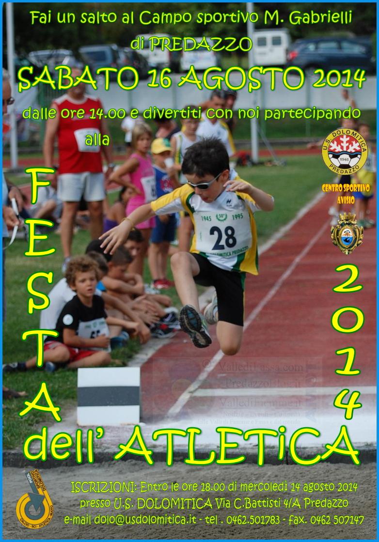 festa atletica agosto 2014 predazzo dolomitica Atletica, Bike, Nuoto e Vertical Km, agosto sportivo con la Dolomitica di Predazzo