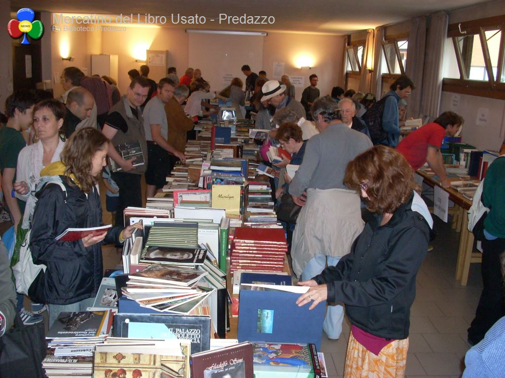 mercatino libro usato biblioteca predazzo3 La biblioteca chiude per lavori fino a sabato 8 ottobre