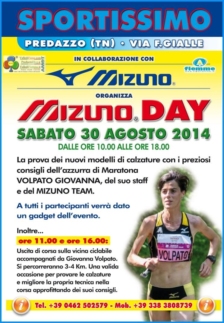 mizuno day sportissimo predazzo1 Predazzo, Mizuno Day da Sportissimo