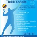 partite volley nazionale cavalese 2014 150x150 Nazionale Maschile Volley 2 partite a Parto per Fiemme