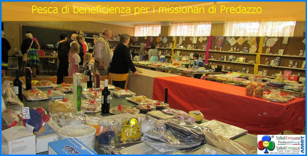 pesca beneficienza missionari predazzo Predazzo, avvisi della Parrocchia 10 17 agosto