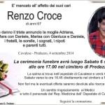 Croce Renzo 150x150 Necrologi, Luigi Felicetti e Pio Degiampietro