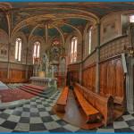 chiesa predazzo interno 360° presbiterio predazzo blog 150x150 Le gallinelle ornamentali di Nicole a Zaluna