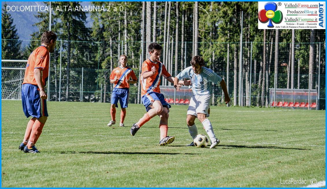 dolomitica alta anaunia Calcio, Dolomitica   Alta Anaunia 2 a 0