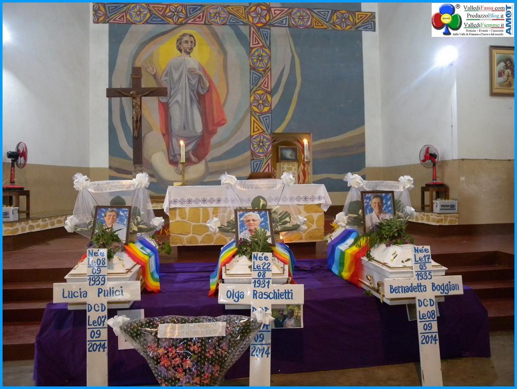 funerale 3 suore morte burundi ph suor delia guadagnini Predazzo, avvisi della Parrocchia 21/28 settembre