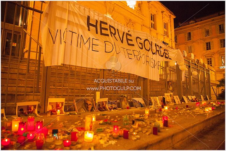 hervè gourdel nice notte1 Un minuto di silenzio per Hervè Gourdel e per la pace
