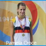 pamela croce podio 1 150x150 Pamela Croce salta 1,81 e fissa il primato trentino under 20