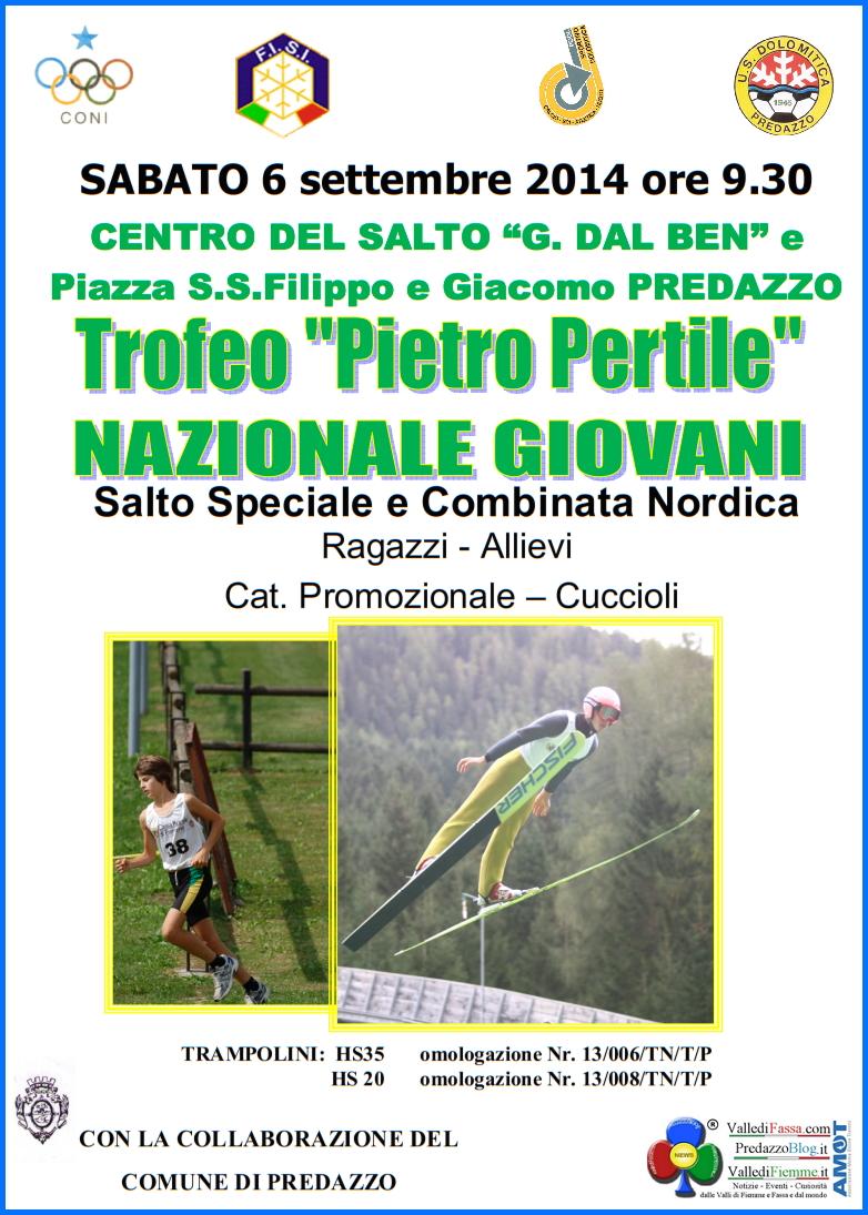 trofeo piero pertile predazzo 2014 1°Trofeo Piero Pertile   Salto e Combinata Nazionale Giovani