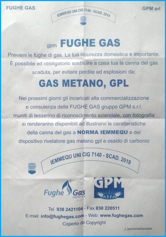 truffa fughe gas Fughe di Gas, avviso del Comune di Predazzo