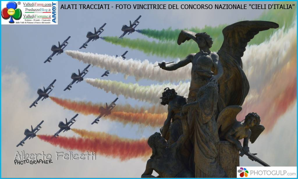 alati tracciati cieli d italia foto vincitrice concorso touring club 1024x615 Alberto Felicetti vince il concorso nazionale Cieli dItalia con la foto Alati tracciati