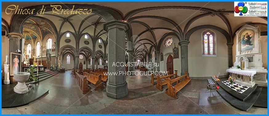 chiesa di predazzo interno Predazzo Avvisi della Parrocchia dal 5 al 12 ottobre