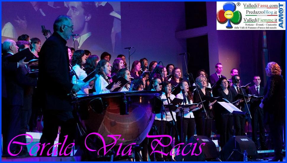 corale via pacis Sorpresi dalla Gioia Concerto con la Corale Via Pacis a Predazzo