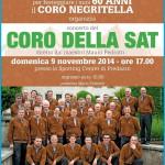 coro della sat a predazzo 150x150 60° del Coro Negritella con Rassegna e Mostra Fotografica