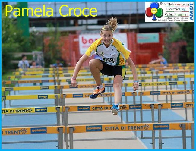 pamela croce predazzo blog  Pamela Croce record regionale di salto in alto con 1,67 mt.