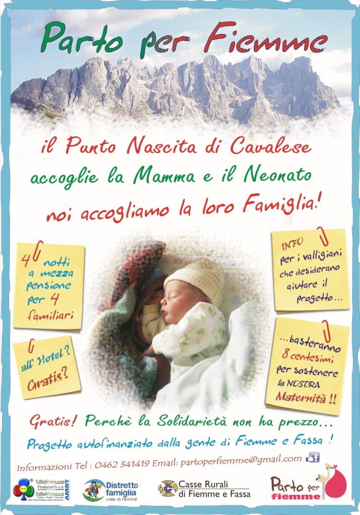 parto per fiemme ott 2014 716x1024 Da Roma a Cavalese per nascere
