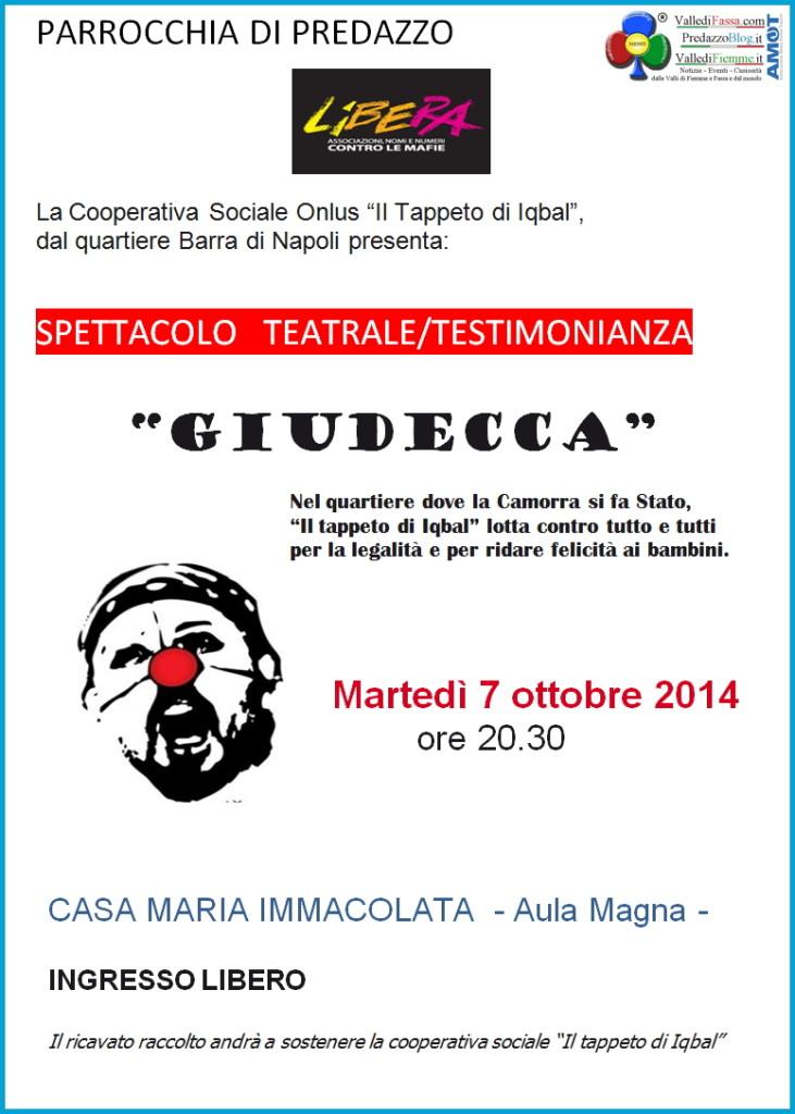 spettacolo teatrale giudecca predazzo 731x1024 Giudecca spettacolo teatrale/testimonianza a Predazzo