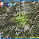 terremoto dolomiti falcade moena 150x150 Terremoto 3.6 epicentro Voltago Agordino (BL)