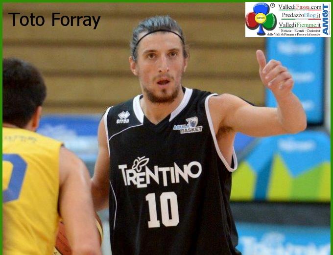 toto forray Basket: i campioni di serie A in visita alle scuole medie di Predazzo e Tesero