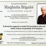 Brigadoi Margherita 150x150 Predazzo, necrologio Giuseppina Felicetti e avvisi parrocchiali