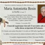 Necro Maria Bosin 150x150 Necrologio, Brigadoi Maria Grazia in Dezulian