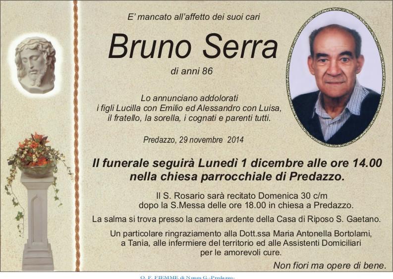 Serra Bruno Predazzo, avvisi della Parrocchia 30 nov.   7 dic.