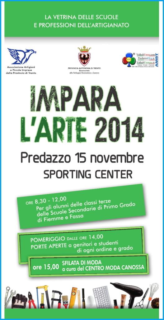 impara arte predazzo 2014 527x1024 Predazzo, Impara lArte 2014 allo Sporting Center