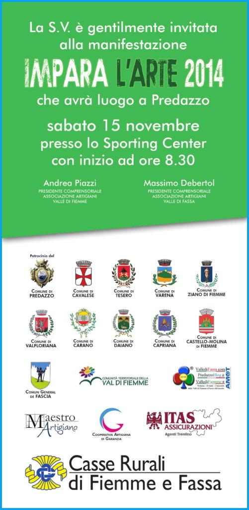impara arte predazzo nov 2014 501x1024 Predazzo, Impara lArte 2014 allo Sporting Center