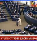 papa francesco a strasburgo discorso integrale
