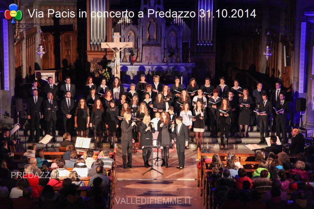 via pacis concerto a predazzo 31.10.2014 chiesa parrocchiale6 Predazzo, avvisi della Parrocchia 9/16 novembre