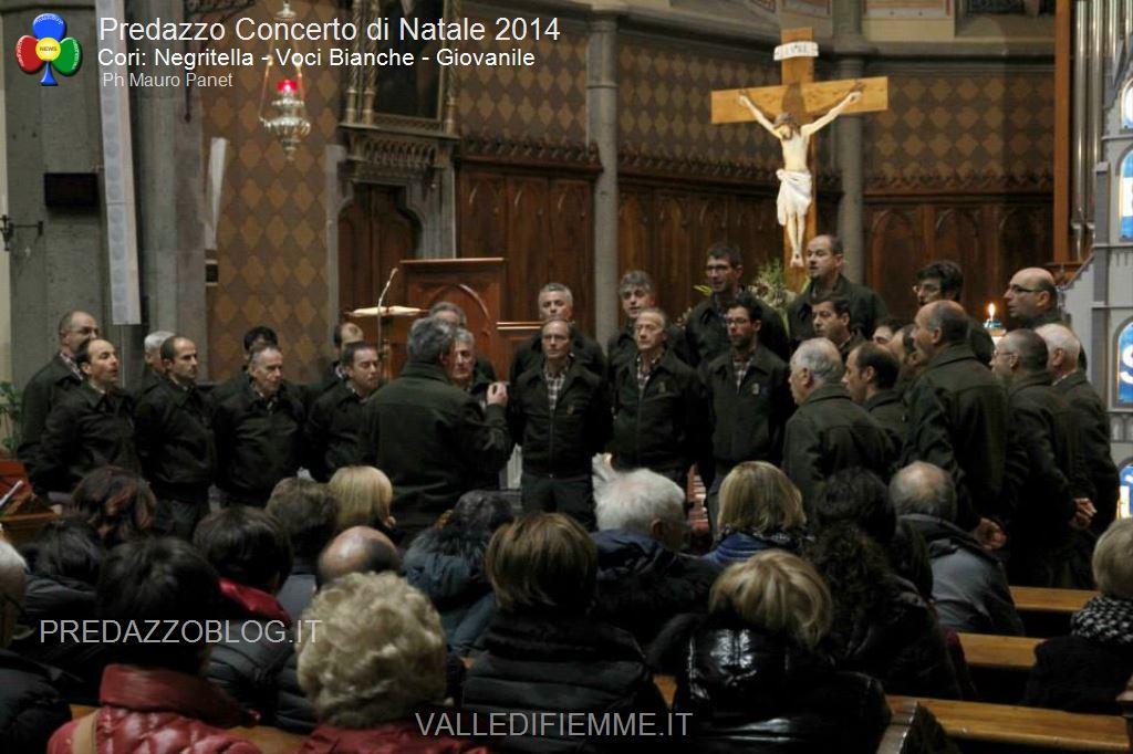 Concerto di Natale 2014 Cori Negritella Voci Bianche Giovanile6 16° Rassegna di Canti Natalizi con 3 cori a Predazzo