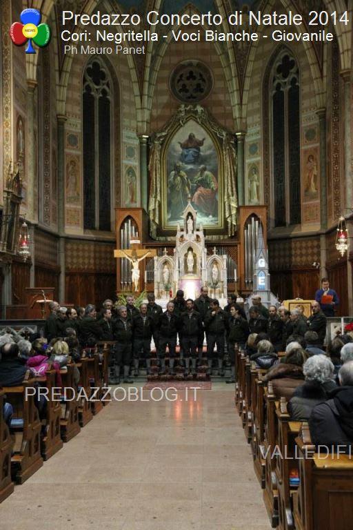 Concerto di Natale 2014 Cori Negritella Voci Bianche Giovanile9 Avvisi Parrocchie 17 25 dicembre Orari Messe Natale