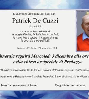 De Cuzzi Patrick