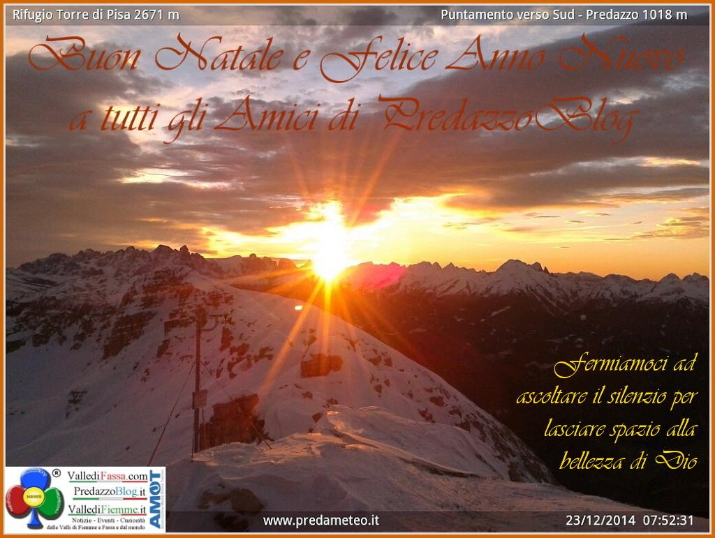 buon natale e felice anno nuovo by predazzo blog 1024x771 1 Buon Natale a tutti gli Amici di PredazzoBlog