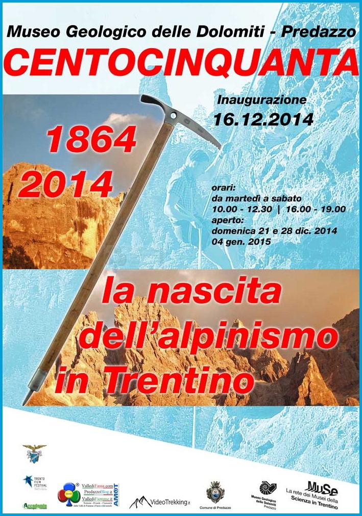centocinquanta nascita alpinismo trentino predazzo Centocinquanta   la nascita dellalpinismo in Trentino   Mostra a Predazzo