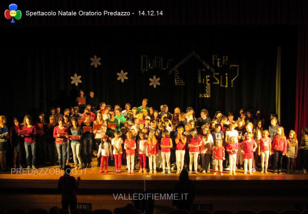 spettacolo natale oratorio predazzo 14.12.14 predazzoblog41 Predazzo, avvisi della Parrocchia e bollettino n°4 dicembre 2014