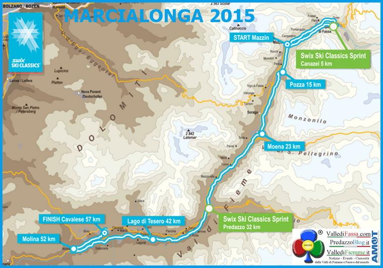 marcialonga 2015 tracciato Marcialonga 2015 la diretta streaming integrale su PredazzoBlog