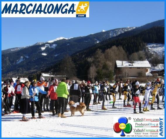 marcialonga stars  Marcialonga Stars con il Winter Nordic Walking
