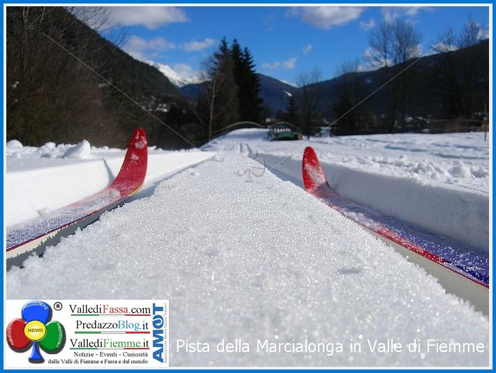 pista marcialonga fiemme Pista Marcialonga, agibile fino a marzo con 2 euro al giorno