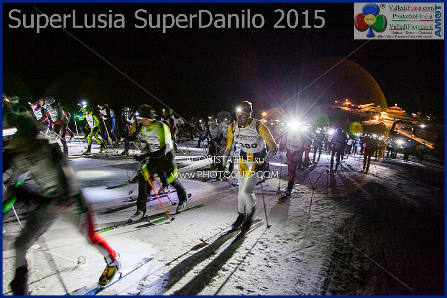 superlusia 2015 la partenza da castelir SuperLusia SuperDanilo 2015 da record   Classifiche e Foto