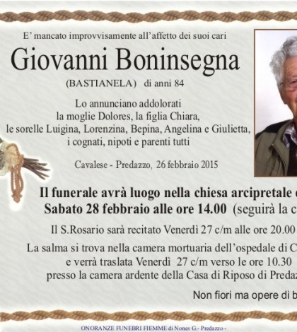 Boninsegna Giovanni
