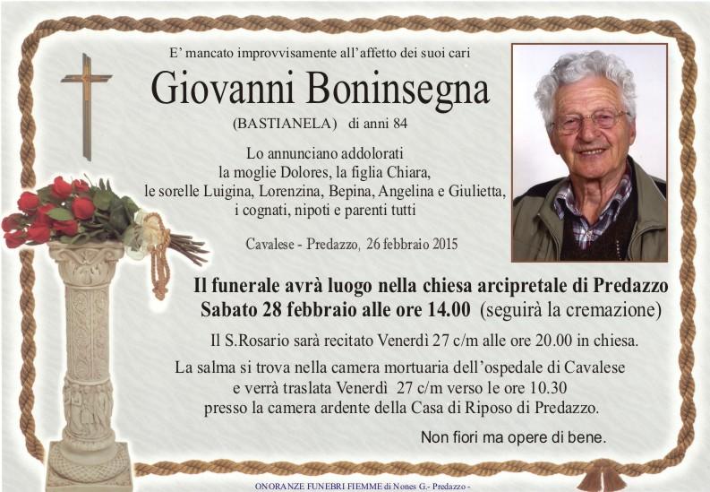 Boninsegna Giovanni Necrologi, Giovanni Boninsegna e Marcello Benozzi