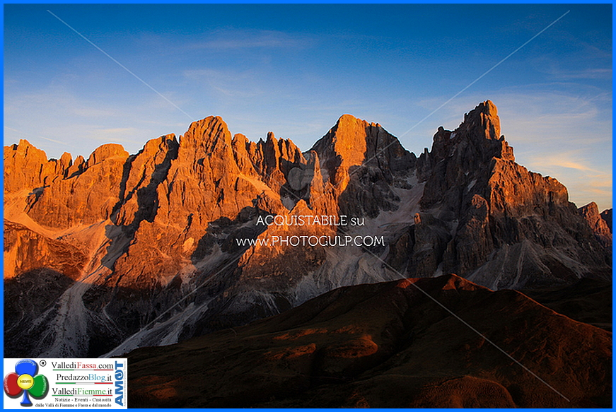 enrosadira dolomiti rolle Montagne – Uomini – Storie, le Dolomiti Unesco in 6 puntate
